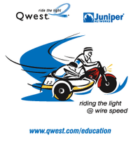 Juniper Networks / Qwest Communications Logo