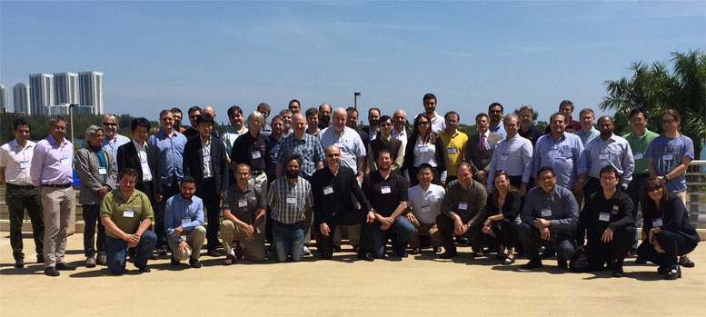 Attendees of Int'l OpenFlow/SDN Testbeds workshop