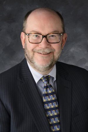 Photo of speaker Dr. Daniel A. Reed, who is University Chair in Computational Science and Bioinformatics, University of Iowa