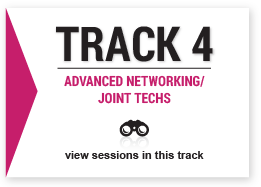 track 4 Advanced Networking/Joint Techs image