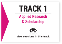 track 1 Applied Research & Scholarship image