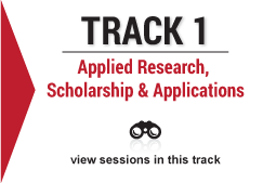 track 1 Applied Research, Scholarship and Applications image