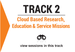 track 2 Cloud Based Research, Education and Service Missions image