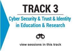 track 3 Cyber Security and Trust and Identity in Education and Research image